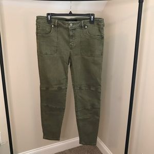 Liverpool: Army Green Jeans